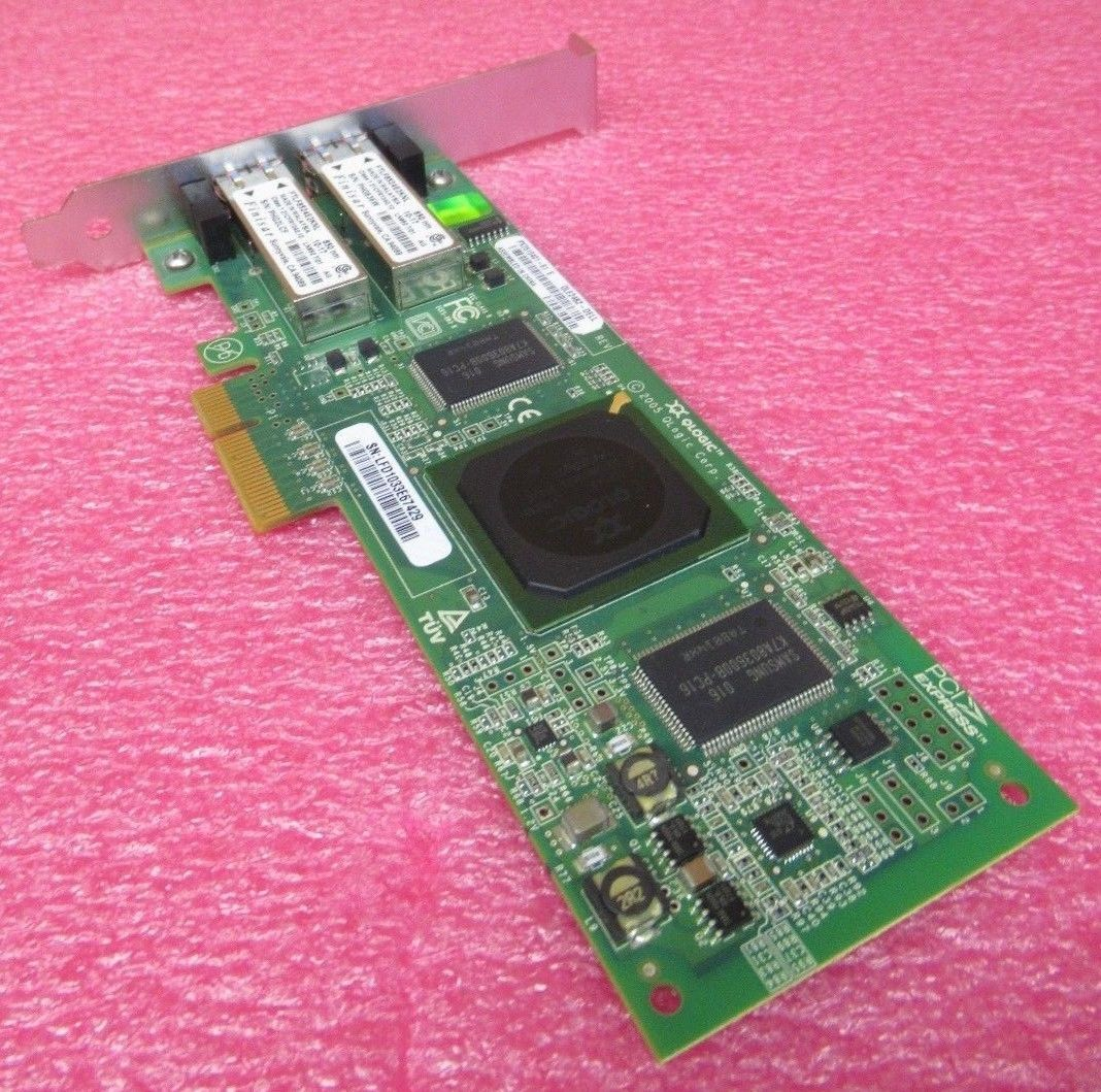 Dell Qlogic QLE2462 4GB s Dual Port PCI Express FC Host Bus